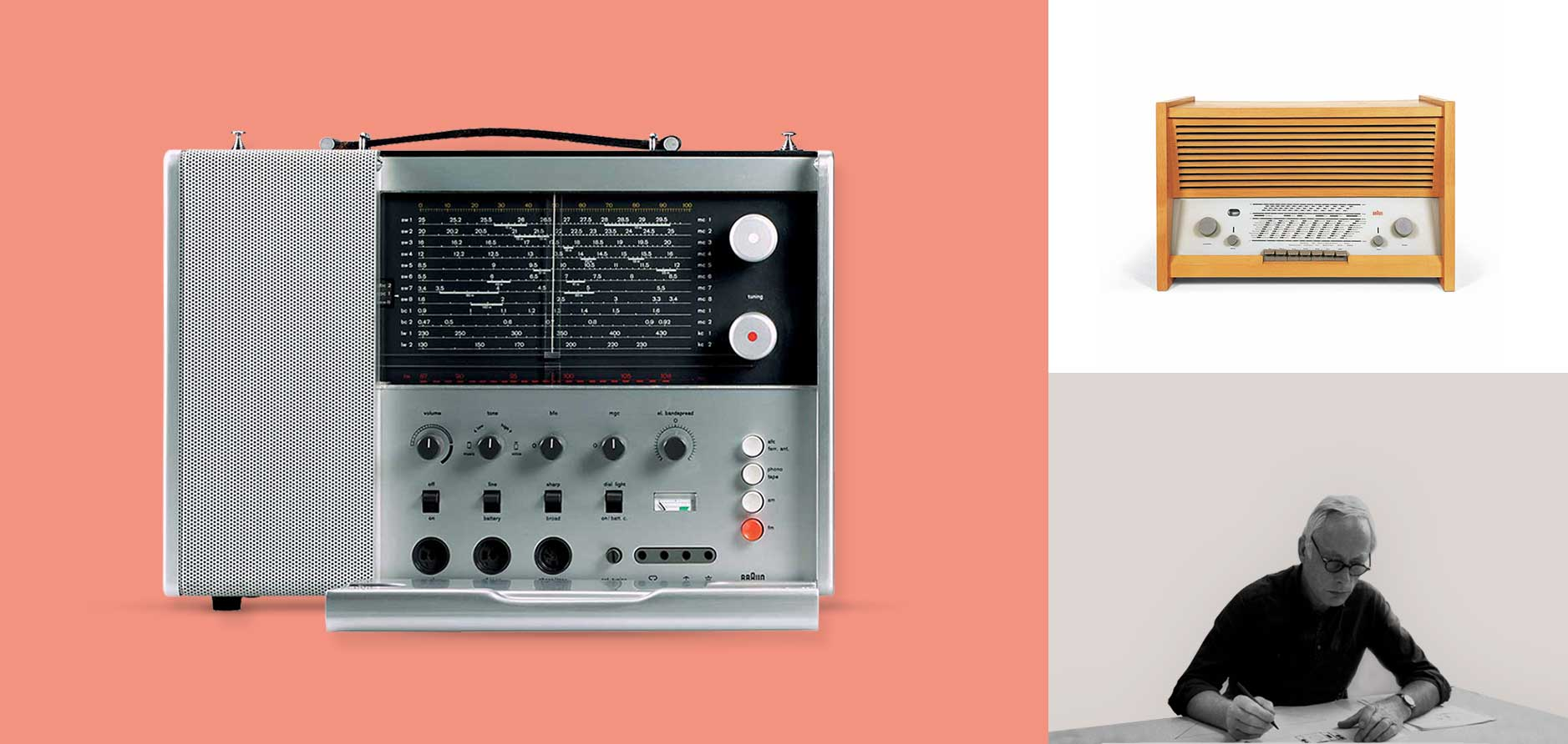 The new design concept and start of the era Dieter Rams